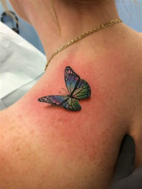 15 gorgeous shoulder butterfly tattoo desgns pretty designs