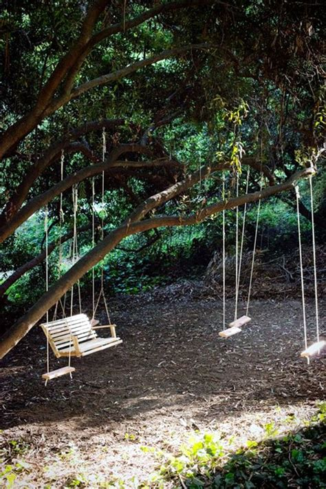 backyard tree swings 40 diy tree swing ideas for more family time