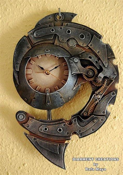 spiral clock face cool stuff pinterest 25 best ideas about steunk clock on pinterest
