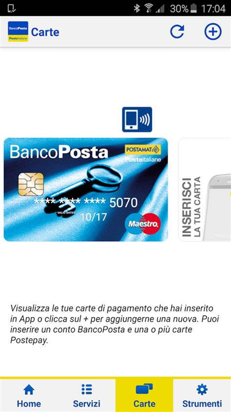 banco posta maestro bancoposta android apps on play