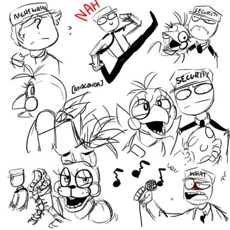 doodle name vincent mike only makes me question him more five nights at