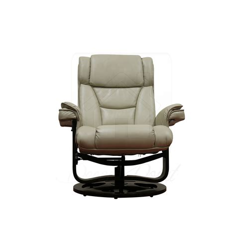 air recliner monash leather air beige 360 degree swivel living room