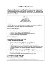 spa therapist resume sle therapy resume the best letter sle