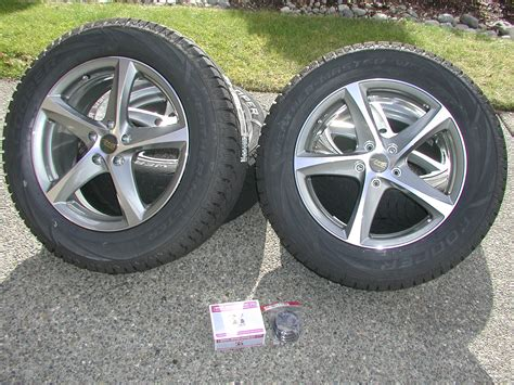 acura mdx snow tires fs 3g mdx new set snow tires mounted on new wheels