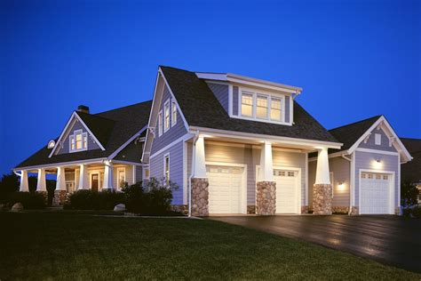 Side Garage Door Exterior Side Entry Garage Exterior Traditional With White Column Traditional Statues And Sculptures
