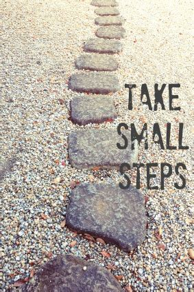 small steps take small steps healthy moving