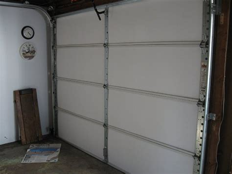 garage door insulation kit matador garage door insulation kit for 8 door up to 9 wide 4 damaged ebay