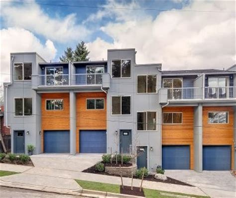 modern row houses modern row house design seattle wa apartment pinterest