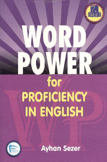 word power in proficiency in