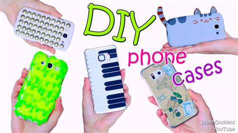 how to make a design 5 diy phone designs how to make slime pusheen