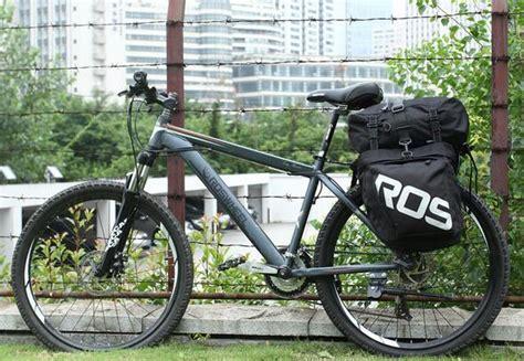 Roswheel Tas Sepeda Bag 37l 14892 roswheel 3 in 1 bicycle rear rack bag pannier bag black white free shipping dealextreme