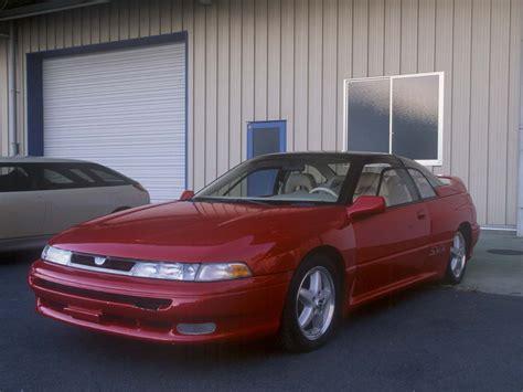 1991 subaru svx 1991 1996 subaru svx subaru supercars net