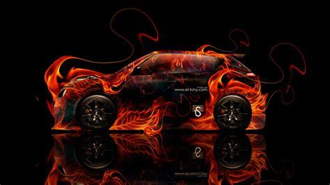 Nissan Juke-R Fire Abstract Car 2014 | el Tony Juke Logo