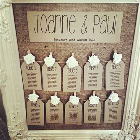 rustic antique framed vintage shabby chic wedding table seating plan vintage shabby chic