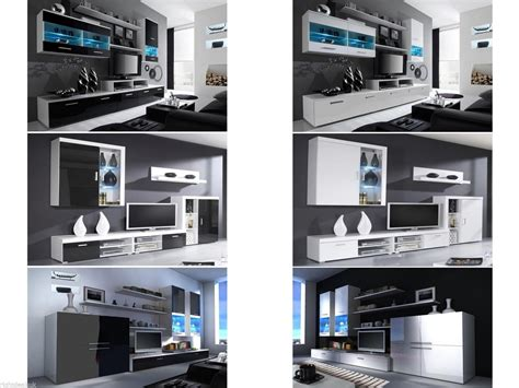 New High Gloss Living Room Furniture Sets Cabinets With Living Room Furniture Tv Units