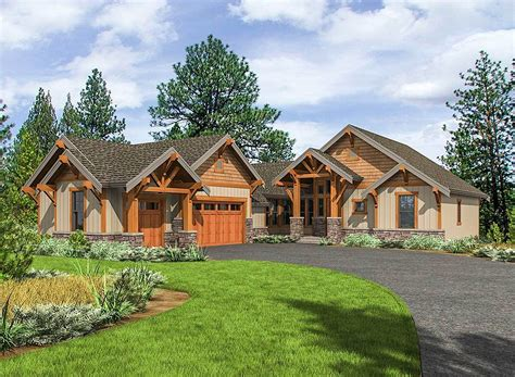 one level craftsman house plans house plan one level duplex craftsman style floor plans duplex luxamcc
