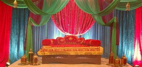 mughal morroccan theme stage wedding event ideas
