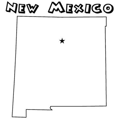 new mexico coloring pages az coloring pages