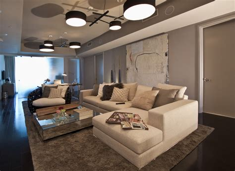The Living Room Miami Fl Dkor Interiors Interior Design At The Bath Club In Miami