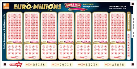 Prix Grille Euromillions by Millions