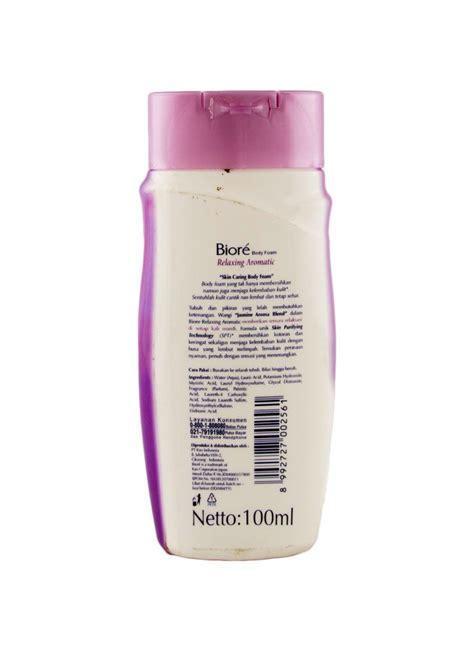 Sabun Cair Foam Biosoft 1 kao biore foam relaxing aromatic btl 100ml