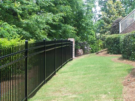 ornamental fence types accent fence