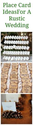 place card ideas rustic wedding place card display ideas rustic wedding chic