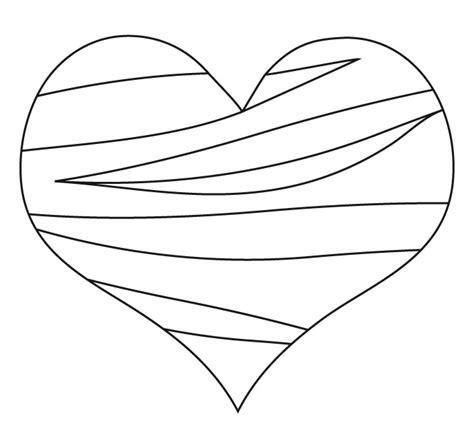 imagenes de corazones abstractos coraz 243 n trazos dibujalia dibujos para colorear