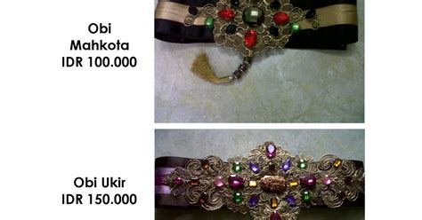 Obi Kerut Bali Selendang Kebaya Bali Murah Koleksi Obi Terlaris