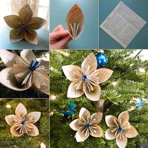 How To Make Paper Ornaments - how to make school paper ornaments pictures photos