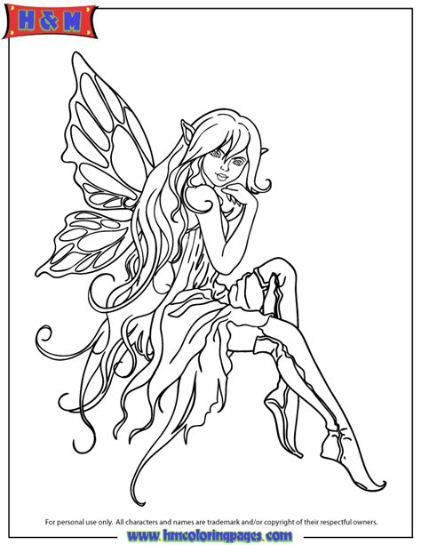 Beautiful Cartoon Fairy In Boots Coloring Page H M Stunning Coloring Images