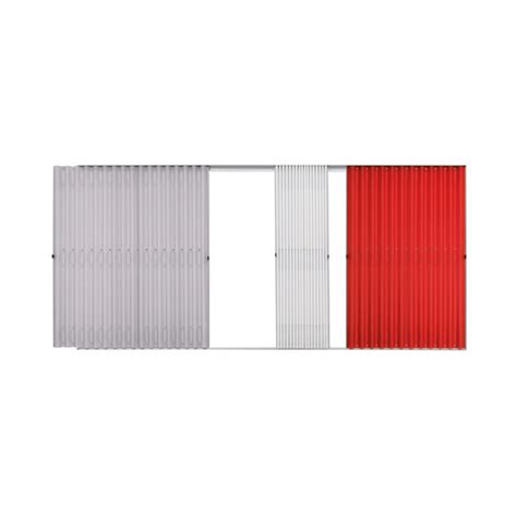 faltvorhang system folding curtain front 440 441 by thut m 246 bel