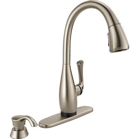 touch2o kitchen faucet glacier bay single handle kitchen faucet chrome the