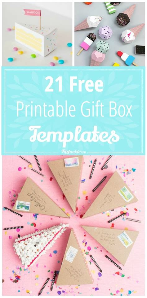 gift box templates best 25 gift box templates ideas on box