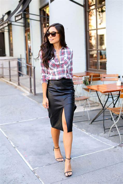 plaid cool  cozy outfit ideas  plaid shirt style