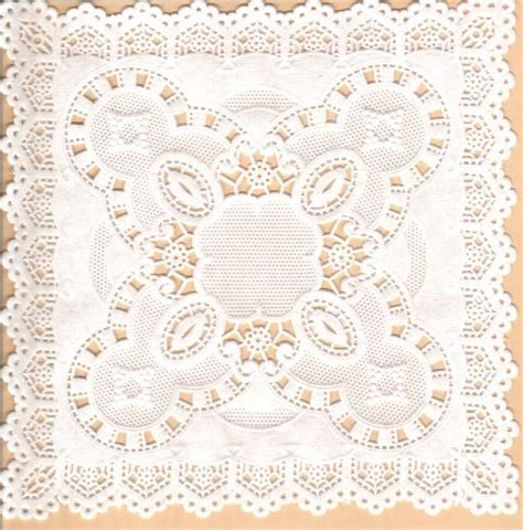 How To Make Paper Lace Doilies - lace doilies how to make a vintage sheet and doily