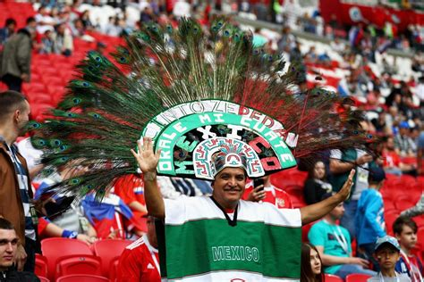 mexico soccer fan gear mexican football fan tells wife he s going to get cigs