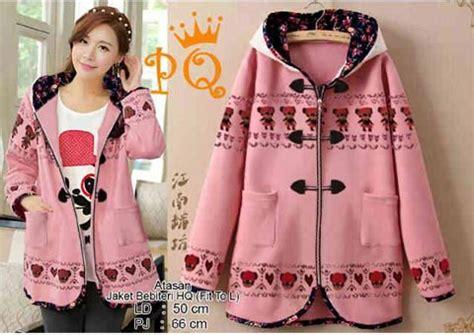 Jaket Wanita Sweater Perempuan 15241 Jaket jaket cewek keren fashion korea kaos remaja murah