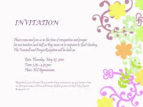 Farewell Invitation Template Free by Farewell Invitation Template