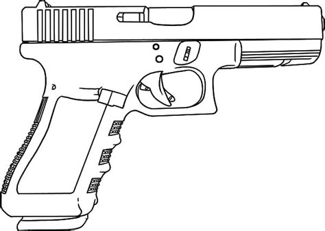 coloring pages guns gun coloring pages