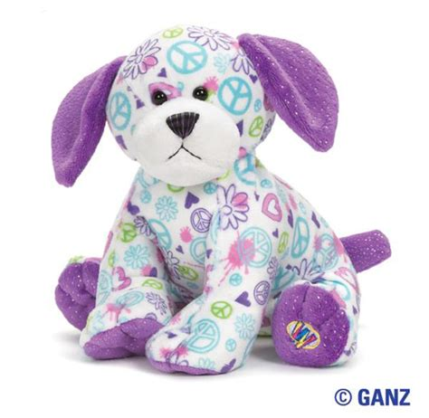 webkinz puppy webkinz peace out puppy hearts desire gifts