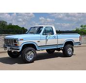 1986 Ford F150 XLT Lariat 4x4 Short Bed One Owner 81000 Miles