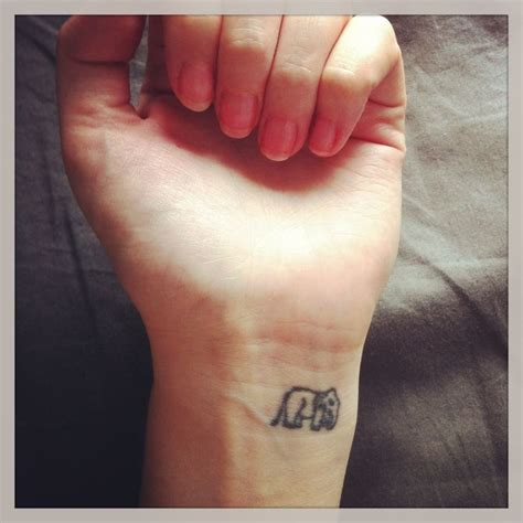 wrist tattoo elephants and tattoos and body art on pinterest