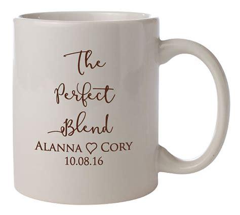 design mug wedding personalized wedding mugs the perfect blend 72