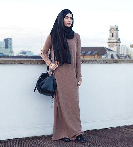 Maxi Livie Hitam wheat knitted maxi dress 163 49 99 inayah islamic