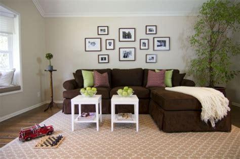 Braunes Sofa Welche Wandfarbe braunes sofa ein quot must quot zu hause archzine net