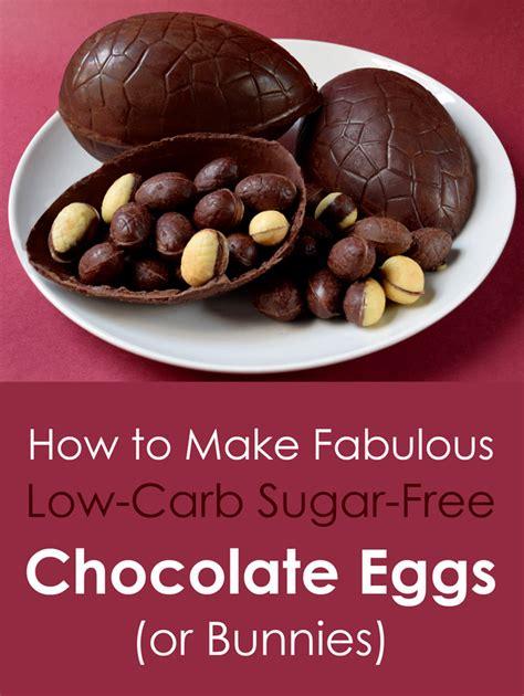 low carb chocolate sugar free chocolate lindas diet how to make fabulous sugar free low carb chocolate eggs