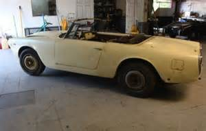 Lancia Flaminia For Sale Bat Exclusive Lancia Flaminia Convertible Project Bring