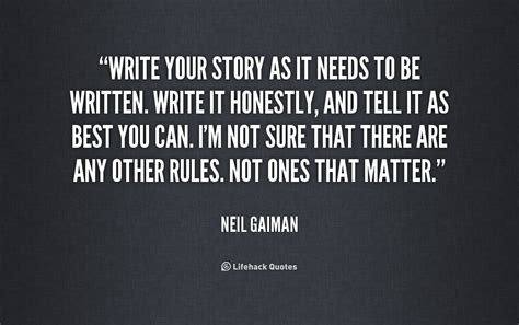 Wants To Write A Tell All by Neil Gaiman Quotes Quotesgram