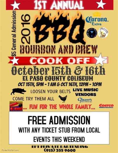 free bbq flyer template bbq cook template postermywall